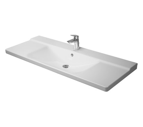 Duravit P3 Comforts 1250mm Furniture Washbasin - 2332120000