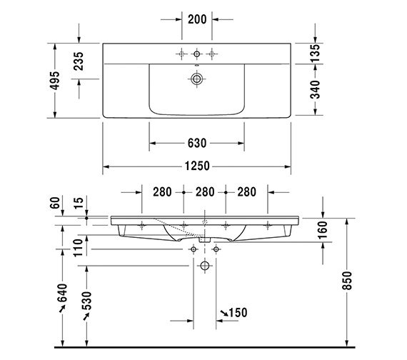 Technical drawing QS-V6376 / 2332120000
