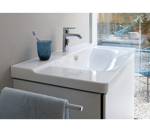 Duravit P3 Comforts 650mm Wide Furniture Washbasin