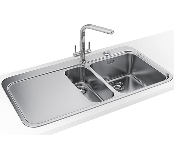 Franke Sinos Designer Pack SNX 251 1.5 Bowl Stainless Steel Sink And Tap