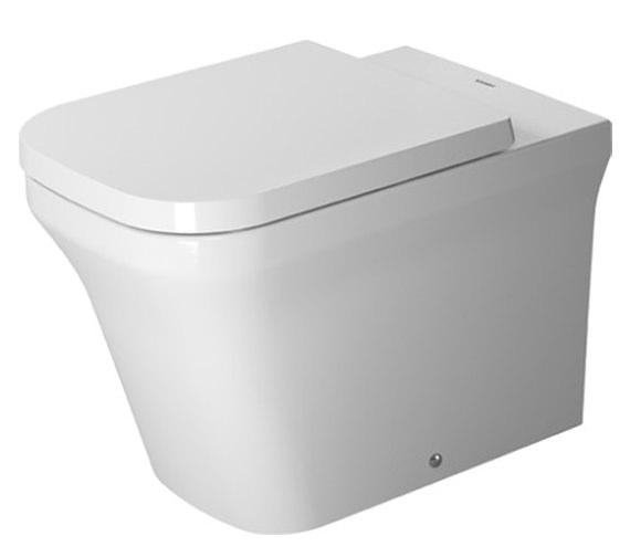 duravit p3 comforts 380 x 600mm floor standing toilet. Black Bedroom Furniture Sets. Home Design Ideas