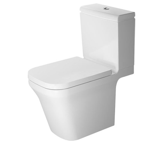 Duravit P3 Comforts Rimless Close Coupled Toilet With Cistern