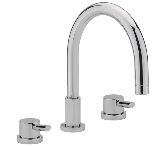 Sagittarius Rocco 3 Hole Deck Mounted Bath Filler Tap
