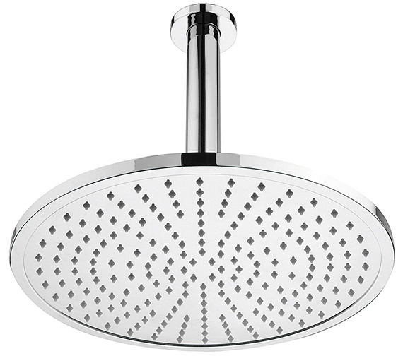 Sagittarius Orta 300mm Fixed Shower Head And Ceiling Mounted Arm