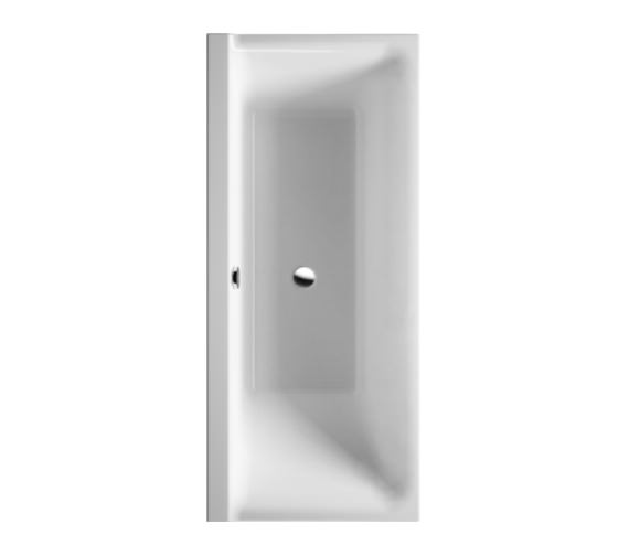 Duravit P3 Comforts 1700 x 700mm Left Slope Bath - 700373