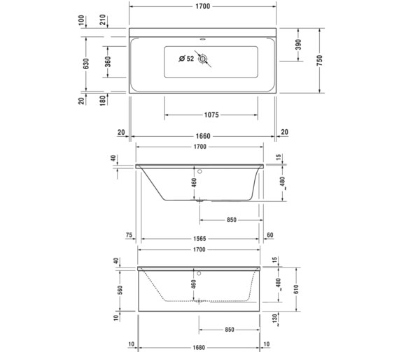 Technical drawing QS-V29799 / 760375000CL1000