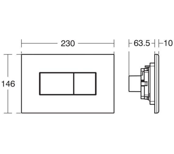Technical drawing QS-V3514 / E4465AA