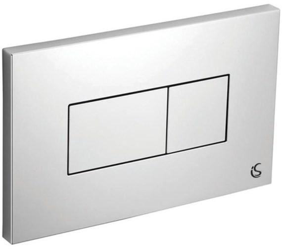 Armitage Shanks Karisma Dual Flush Plate With Logo