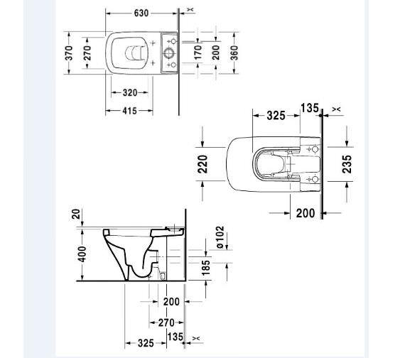 Technical drawing QS-V14487 / 2162090000