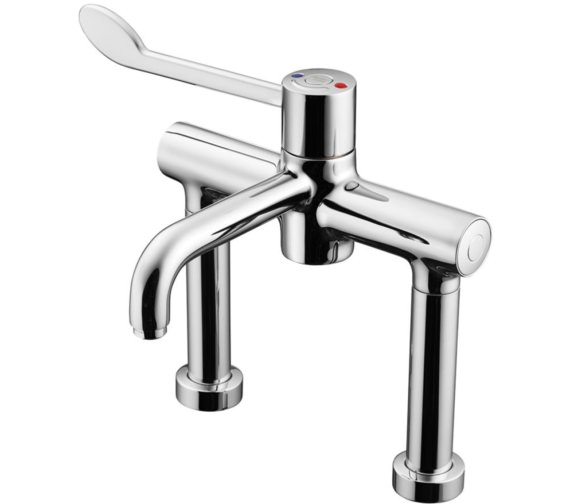 Armitage Shanks Markwik 21 Thermostatic Single Lever Pillar Mixer Tap