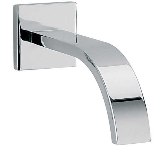 Sagittarius Arke 160mm Wall Mounted Spout With Square Plate