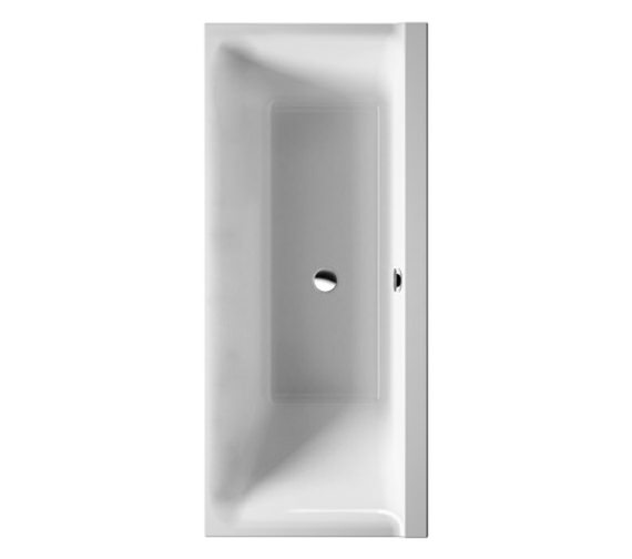 Duravit P3 Comforts 1600x700mm Bath Right Slope With Frame - 700383