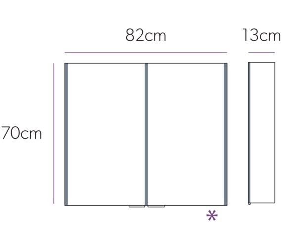 Technical drawing QS-V71959 / 46200