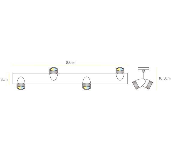Technical drawing QS-V61198 / 5330