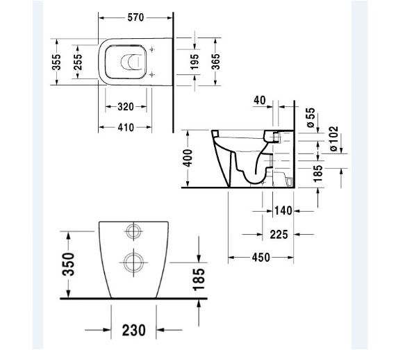 Technical drawing QS-V24822 / 2159090000