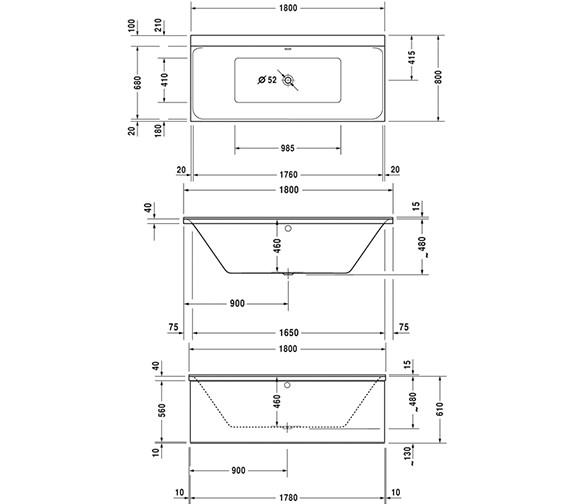Technical drawing QS-V36283 / 700388000000000