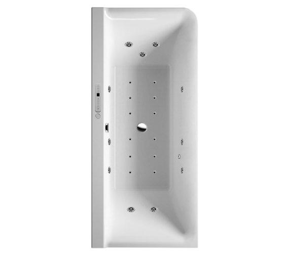 Duravit P3 Comforts 1800x800mm Corner Left Bath With Panel - Combi System L