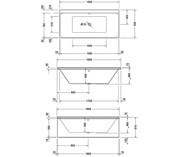 Technical drawing QS-V624 / 760378000CE1000
