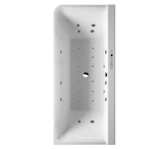 Duravit P3 Comforts 1800x800mm Corner Right Bath With Panel - Combi System E