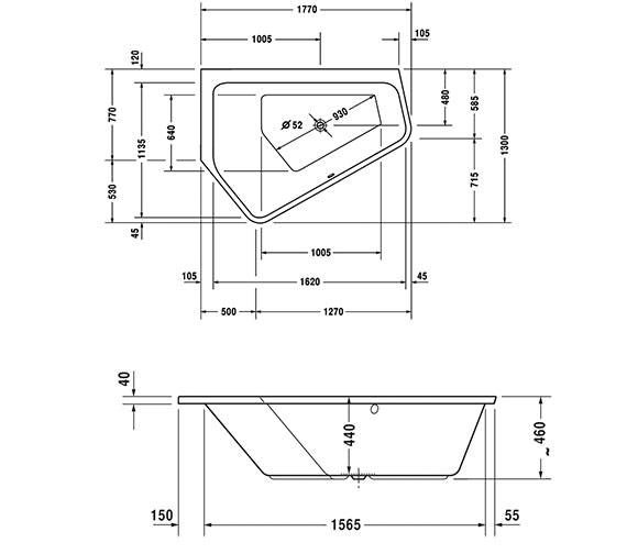 Technical drawing QS-V45809 / 760390000JS1000