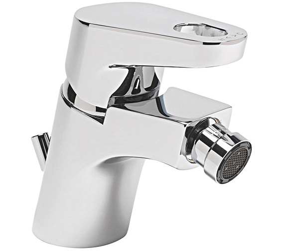 Sagittarius Vento Monobloc Bidet Mixer Tap With Pop-Up Rod Waste