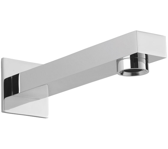 Sagittarius Evolution 180mm Wall Mounted Spout With Square Plate