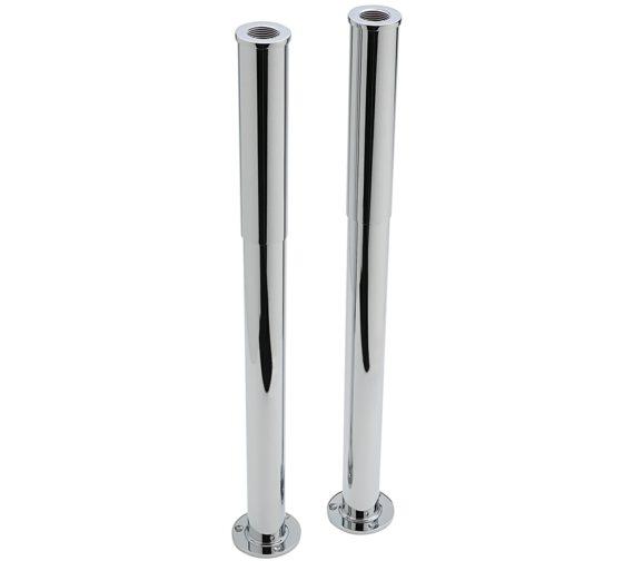 Sagittarius Pair Of Adjustable Standpipe Shrouds Chrome