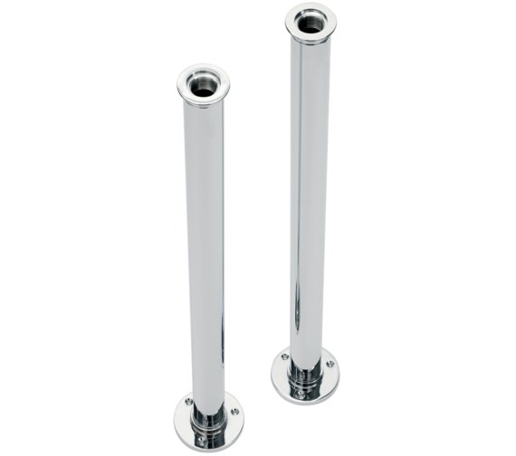 Sagittarius Pair Of Floor Mounted Standpipes Chrome
