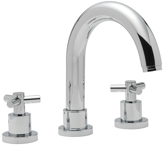 Sagittarius Zone 3 Hole Deck Mounted Bath Filler Tap
