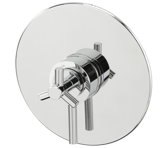 Sagittarius Zone Concealed Thermostatic Shower Valve Round