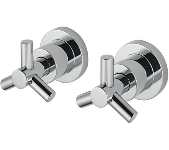 Sagittarius Zone Pair Of 0.5 Inch Wall Mounted Side Valves