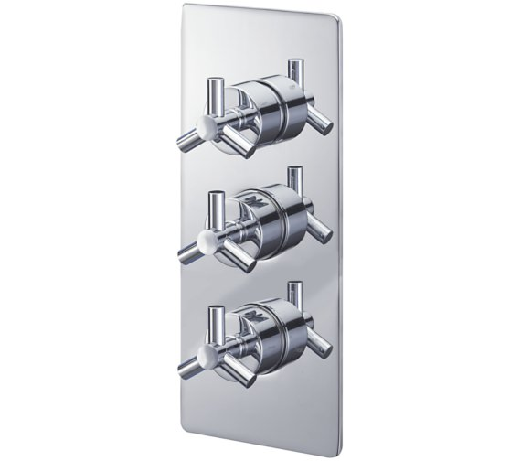 Sagittarius Zone Concealed Thermostatic Shower Valve With 3 Way Diverter