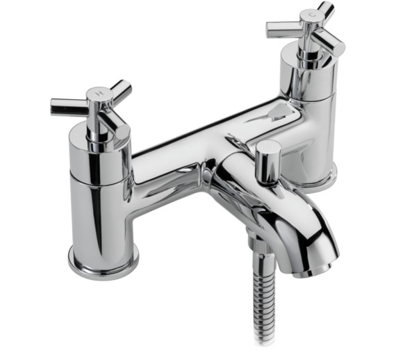 Sagittarius Zone Deck Mounted Bath Shower Mixer Tap And No.1 Kit