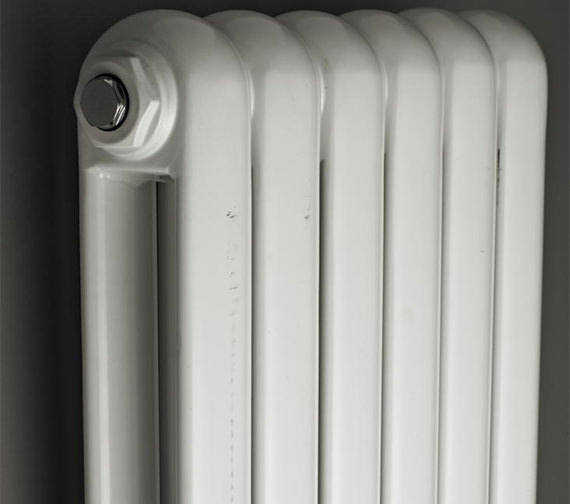 Hudson Reed Salvia Double Panel 1500 x 383mm White Horizontal Designer Radiator