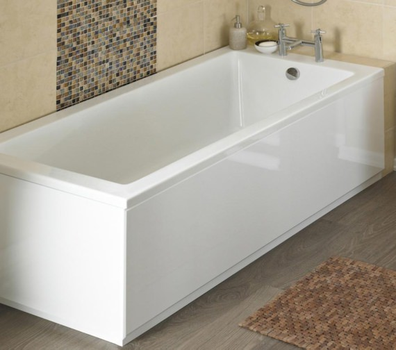 Nuie Premier 1800mm White MDF Bath Front Panel And Plinth