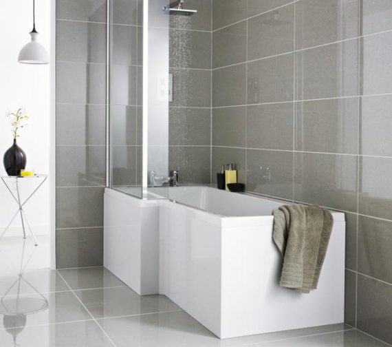 Premier 1700mm White Front Bath Panel