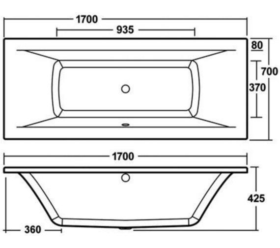 Technical drawing QS-V72841 / BEO-2181