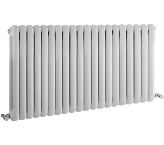 Additional image of Hudson Reed Salvia Double Panel Horizontal Designer Radiator