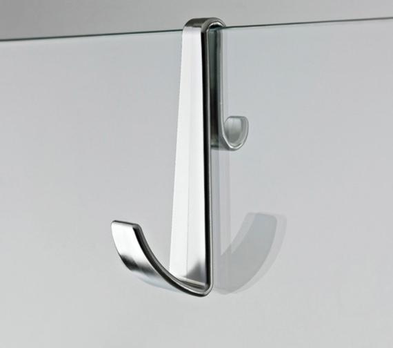 Premier Multi-Purpose Hook For Frame-Less Enclosure