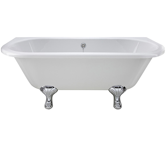 Alternate image of Premier 1700 x 745mm Back-To-Wall Freestanding Acrylic Bath
