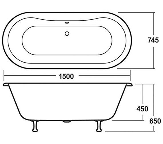 Technical drawing QS-V14384 / RL1501M1