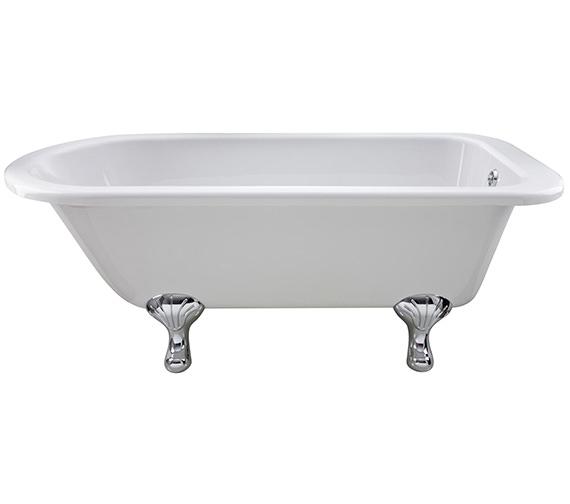 Alternate image of Hudson Reed Barnsbury 1700 x 750mm Freestanding Acrylic Bath With Pride Legs