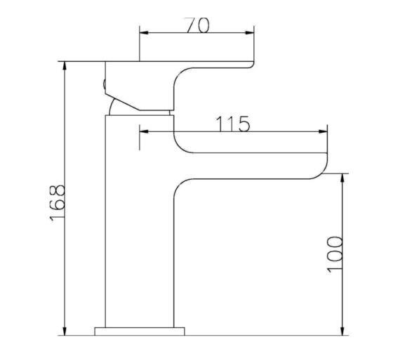Technical drawing QS-V13084 / BEO-1727