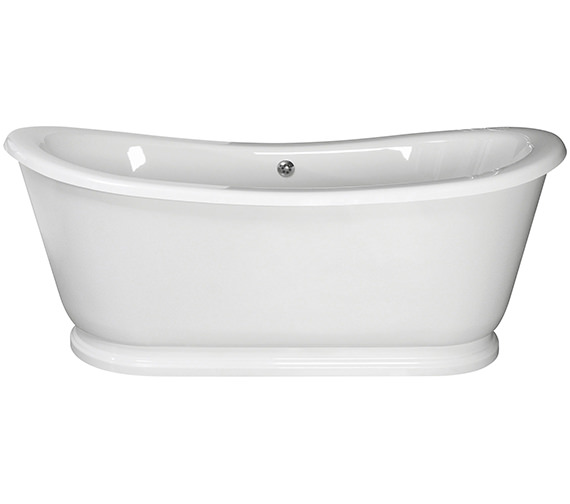 Lauren Alice 1740 x 800mm Freestanding Acrylic Slipper Bath