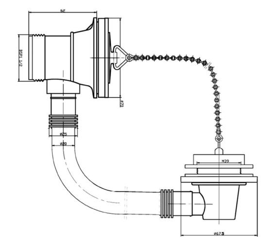 Technical drawing QS-V22535 / BEO-1952