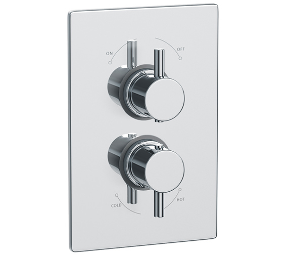 Abode Euphoria Thermostatic Shower Mixer Valve With 1 Exit - AB2202