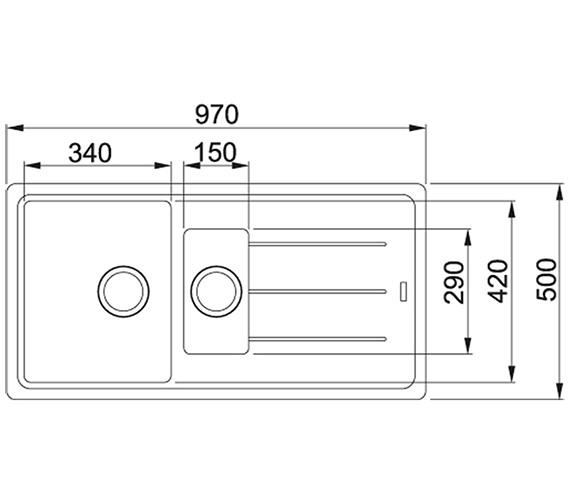 Technical drawing QS-V84071 / 1140253259