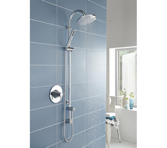 Additional image of Lauren Tec Thermostatic Dual Concealed Shower Valve