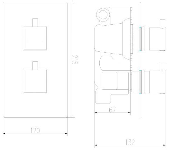 Technical drawing QS-V43041 / JTY302