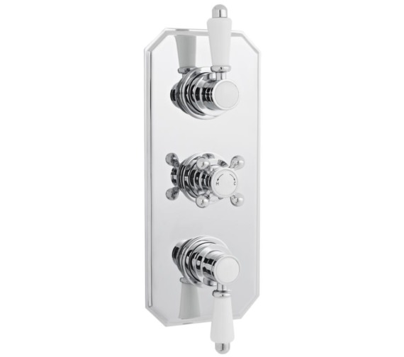 Premier Victorian Thermostatic Triple Concealed Shower Valve